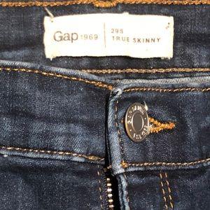 Gap 1969 True Skinny Denim - 29s worn